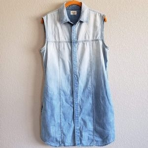 Hudson | Ombre Chambray Button Down Dress